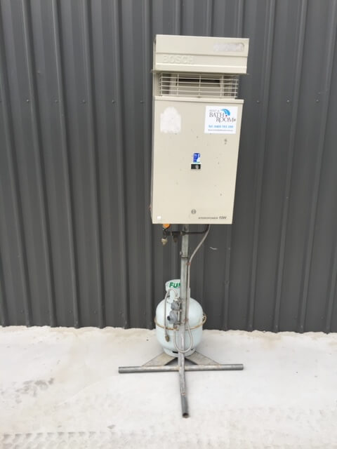 heater Portable shower hire